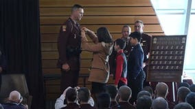 Tallest trooper ever among new graduates from Minnesota State Patrol Academy