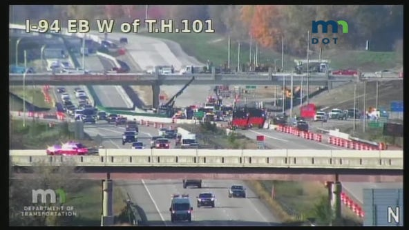 Officials investigate fatal crash on I-94 in St. Michael, Minn.