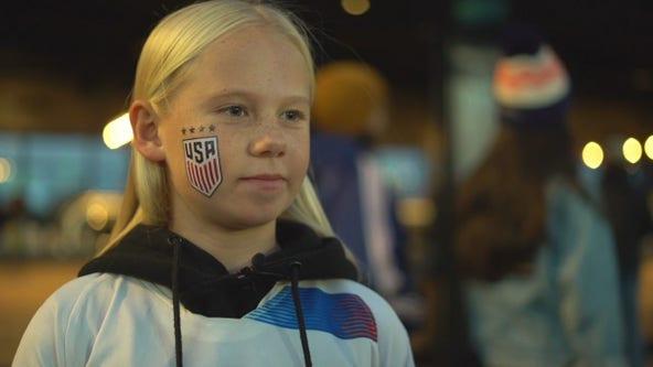 Fans celebrate US Soccer Legend Carli Lloyd's retirement game in MN
