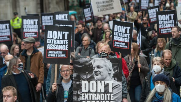 Amnesty International calls for charges to be dropped against Julian Assange