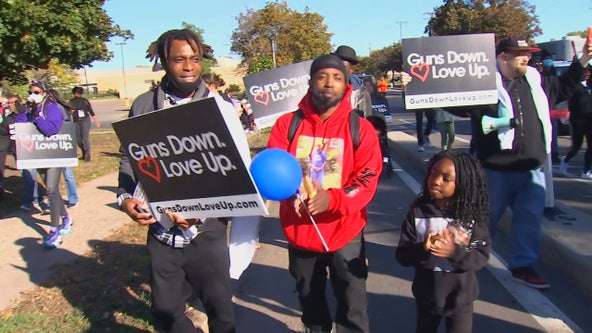 Children's March to End Gun Violence held in north Minneapolis