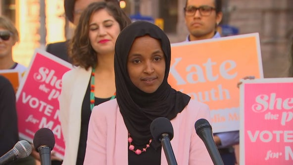 Rep. Omar endorses two candidates for Minneapolis mayor, urges voters to snub Frey