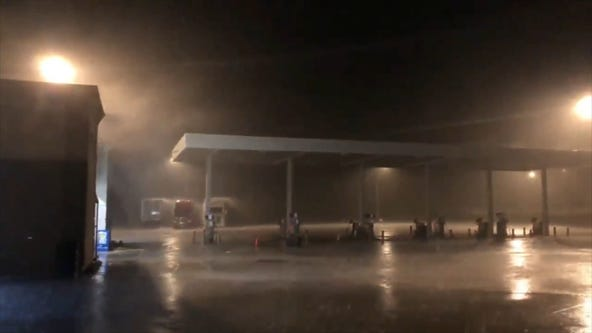 Tornadoes hit Oklahoma as severe weather sweeps across Central US