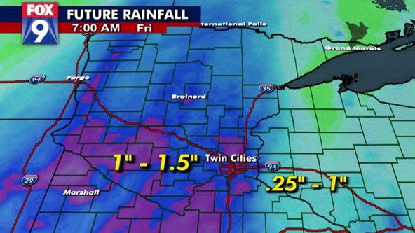 Widespread beneficial rain arrives for Wednesday, Thursday