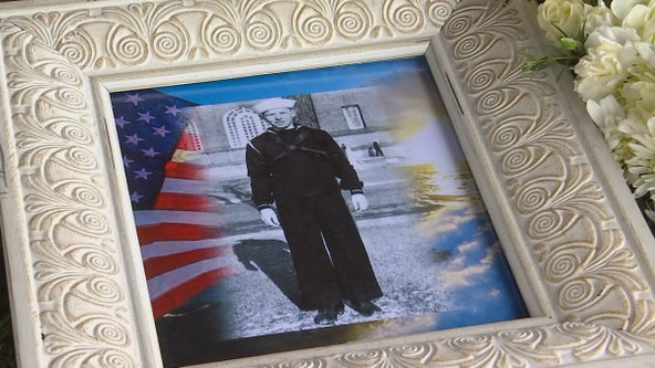 Navy seaman laid to rest in Minnesota after dying at sea during WWII