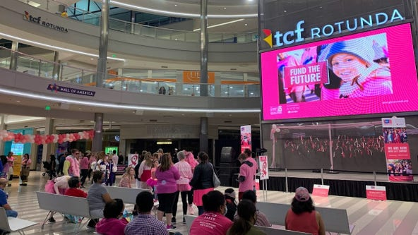 Annual Making Strides Against Breast Cancer walk held at MOA