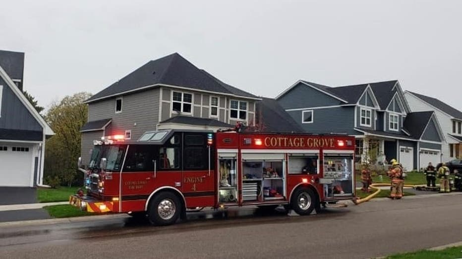 cottage grove house fire