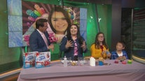'Slime Queen' Karina Garcia demonstrates DIY slime on GDLA