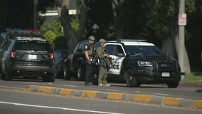Police investigation near Del Amo mall in Torrance
