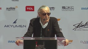 Comic-book legend Stan Lee becomes cemented Hollywood legend
