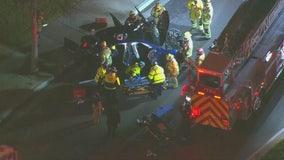 Westminster crash