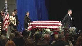 Sgt. Ron Helus funeral held in Westlake Village
