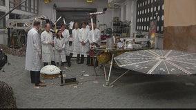 InSight Mars lander scheduled to land in November 2018