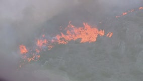 Hill Fire explodes to almost 10,000 acres