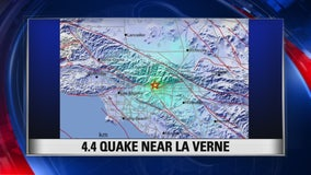 La Verne 4.4 earthquake