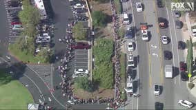 Thousand Oaks strong: Hundreds donate blood to mass shooting victims