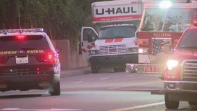 Traffic stop leads to hazmat situation in Fullerton