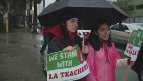 LA Teacher Strike Day 2