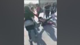 Cell phone video captures student beaten at Rialto Middle School