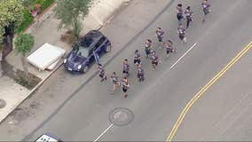 Local law enforcement participate in Torch Run for Special Olympics