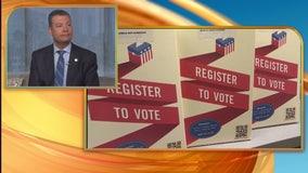 California Secretary of State Alex Padilla discusses voter registration and more