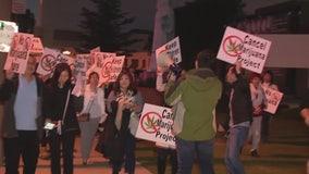 El Monte residents protest proposed medical marijuana dispensary