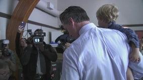 Gavin Newsom casts ballot in San Francisco