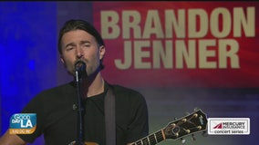 Brandon Jenner performs live on Good Day LA
