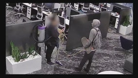 Man attacks cleaning woman in Irvine office building
