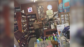 Peacock trashes liquor store in Arcadia