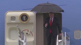 President Trump holds Westside fundraiser