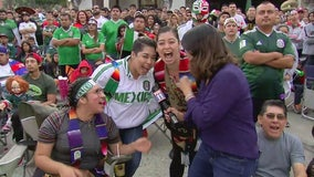 Mexico vs. Sweden: FIFA World Cup watch party held in Lynwood