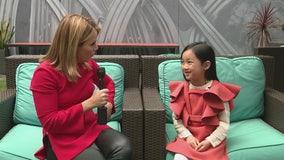 Viral singing sensation Malea Emma, 7, sings national anthem for Good Day LA