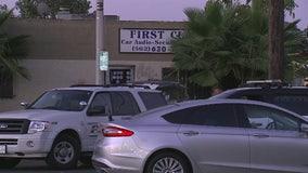2 men found shot to death in Downey car audio shop