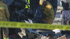 4 killed in possible street racing crash