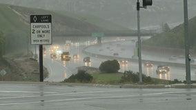 Heavy rain causes mudslides in Simi Valley area