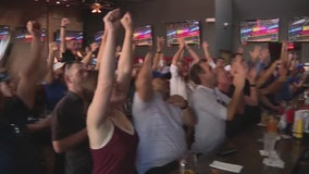 Dodger fans react to win