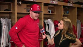 Angels superstar Mike Trout talks storm chasing in Arizona