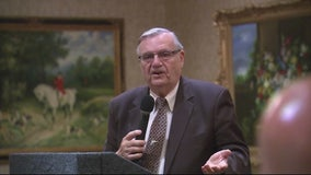 Joe Arpaio at Trump National Golf Course