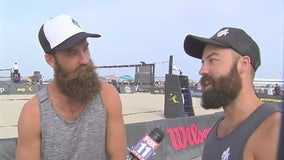 'Beard Brothers' Maddison and Riley McKibbin talk 2018 AVP Hermosa Beach Open