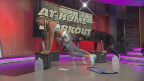 At home workout with fitness expert Ali Holman