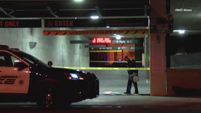 Husband arrested after woman falls to her death from Alhambra parking garage, police say