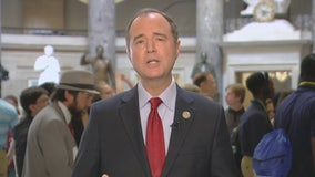 Rep. Adam Schiff reacts to President Trump's meeting with Putin
