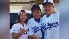 A Las Vegas shooting victim is remembered by the Dodgers
