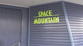 Disneyland's Space Mountain shut down after man climbs down moving ride