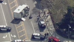 Officials investigate reported suspicious package in Calabasas area