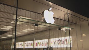 Grab-and-dash heist reported at Newport Beach Apple Store