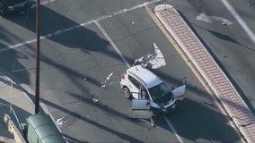 Carjacking leads to chase, fatal crash in Palmdale