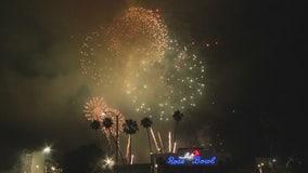 Rose Bowl fireworks show