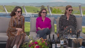 The glass is always half full when interviewing the ladies of laughter